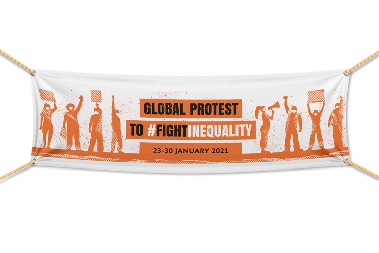 Global Protest to Fight Inequality